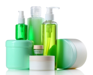 plastic bottles for beauty products